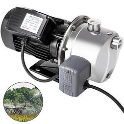 0.75HP 18.5GPM Shallow Well Jet Pump w/Pressure Switch Stain