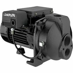 Flotec 1/2 HP Cast Iron Convertible Deep Well Jet Pump and T