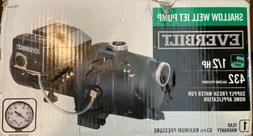 Everbilt 1/2 HP Shallow Well Jet Pump - J100A3