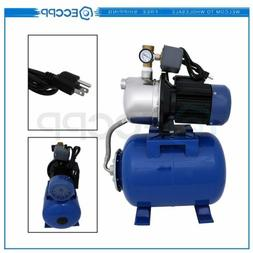 1.5 HP 1215GPH Shallow Well Garden Pump with Booster System