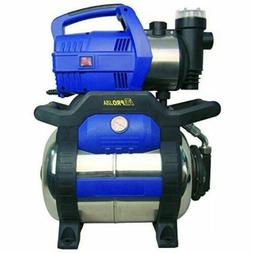 1 HP Heavy Duty Water Transfer Pump Shallow Well Pump with T