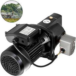 Shallow Well Jet Pump w/Pressure Switch 1HP 17.6GPM, Hmax 21