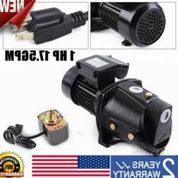 1 HP Shallow Well Jet Pump w/ Pressure Switch 1 HP Jet Pump