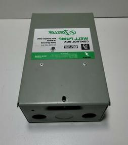 Zoeller 1010-2336 Well Pump Control Box For Pumps With 3 Wir
