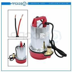 12V Farm & Ranch Solar Powered Submersible DC Water Well Pum