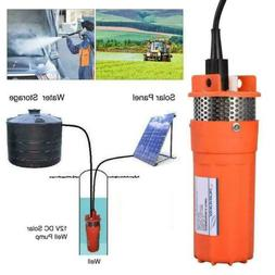 12V Submersible Deep Well Water DC Pump Energy Solar Battery
