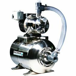 Burcam Pumps 16 GPM 3/4 HP Stainless Steel Shallow Well Jet