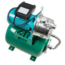 1HP 750W Shallow Well Jet Pump with Pressure Tank 3420 RPM 7