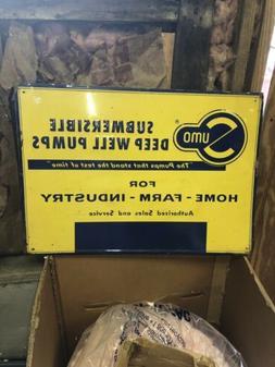 "27 1/2"" Sumo Deep Well Pumps Sign"