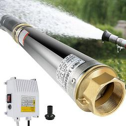 """4"""" Deep Well Pump 1.5HP 110V Submersible 390FT 24GPM w/ Cont"""