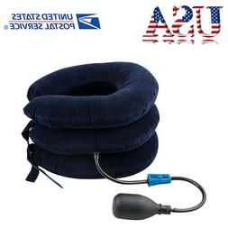 Cervical Collar Neck Relief Traction Brace Support Stretcher