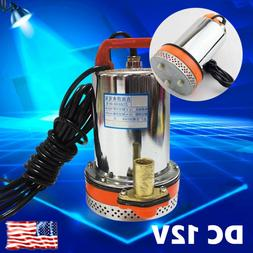 DC 12V Farm&Ranch Solar Powered Submersible Water Well Pump