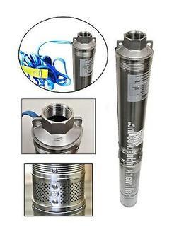 "Deep Well Pump, 3/4HP, 230V/60HZ/1PH 3.2"", 247 ft/13 gpm, Ha"