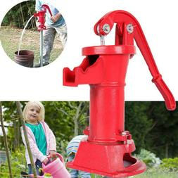 Hand Pump Well Water Pitcher Press Suction Outdoor Yard Pond