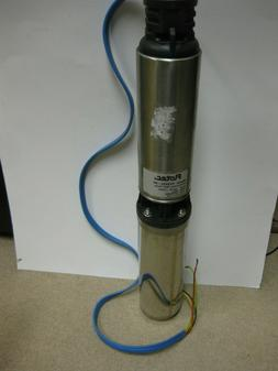 """Flotec FP3222-09 3-Wire Submersible 4"""" Deep Well Pump 3/4 HP"""