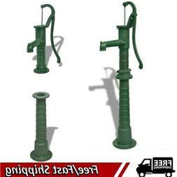 Hand Water Pump Well Pitcher Cast Iron Outdoor Garden Yard P
