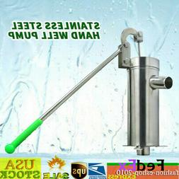 Hand Well pump Manual Deep Water Pump SU202 Stainless Steel