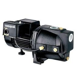 Shallow Well Jet Pump 1/2 HP Dual Voltage Cast Iron Thermal