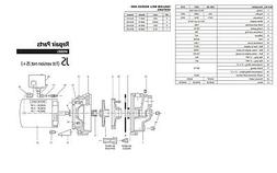 Goulds JS05KIT Repair Rebuild Kit for Goulds JS05 Shallow Wa