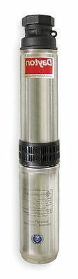 DAYTON 1LZU1 Pump, Deep Well, 3 Wire, 5GPM, 3/4HP, 230V