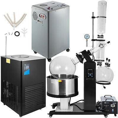 50l rotary evaporator with vacuum pump