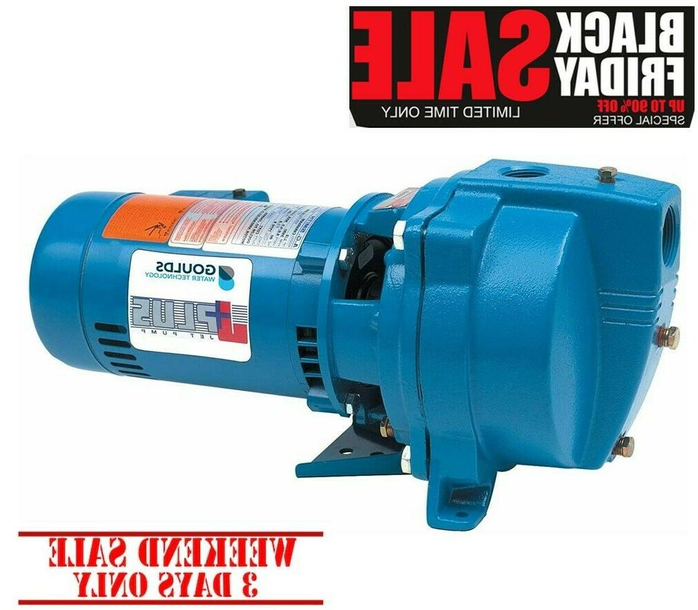 j7s single nose shallow well jet pump