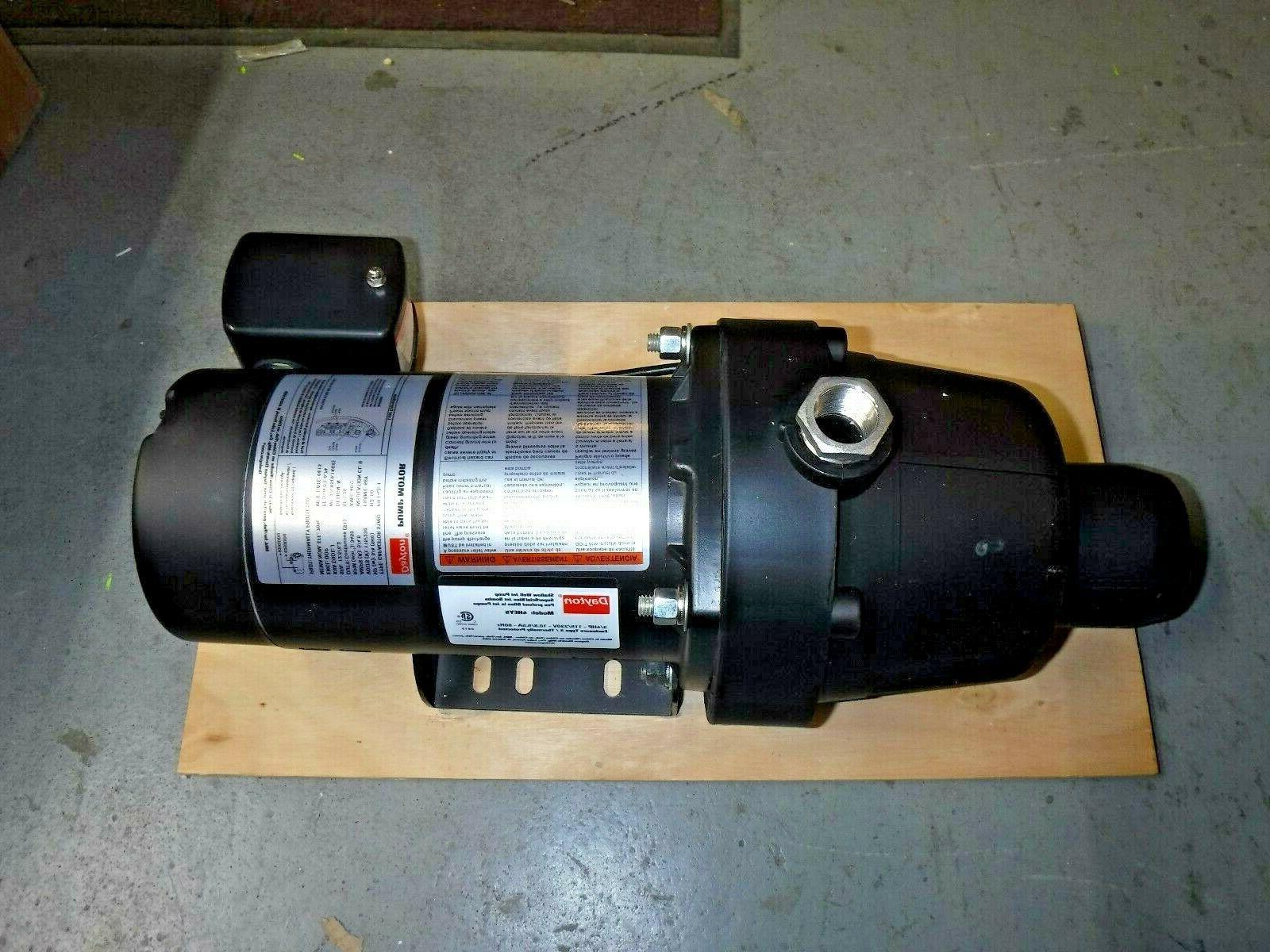 shallow well jet pump plastic 3 4