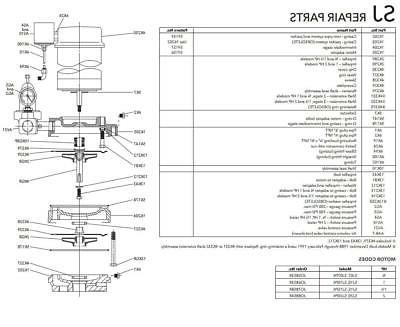 sj07kit repair rebuild kit for sj07 shallow