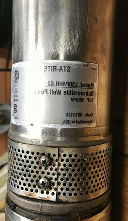 L50P4HH-02 Sta-Rite HS Submersible Well Pump 3hp 50GPM P43B0