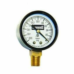 Simmons Mfg. Low Lead Pressure Gauge