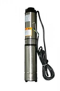 Hallmark Industries MA0343X-4 Deep Well Submersible Pump, 1/