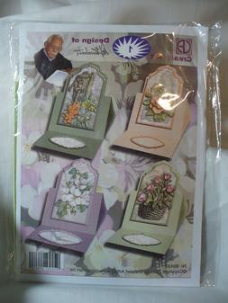 CREATIEF ART Makes 4 Cards Nr.80430, Flowers, Well pump, Bas