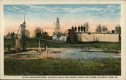 Okmulgee,OK Oil Well Pumping,Receiving Tanks,Power and Drill