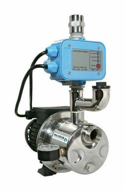 BurCam Pressure Booster/Shallow Well Jet Pump - 3/4 HP, 90De