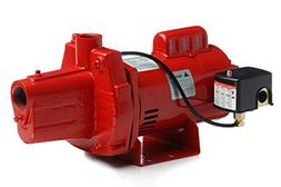 Red Lion RJS-50-PREM .5HP Cast Iron Thermoplastic Shallow We