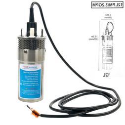 24V Stainless Steel Deep Well Water DC Pump / Alternative En
