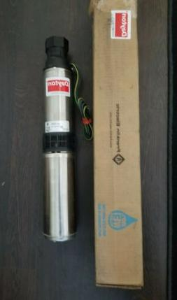 DAYTON Submersible Deep Well pump 2 Wire 10GPM 1/2HP 230V 6