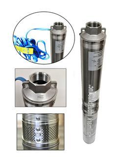 "Submersible Pump, 3.5"" Deep Well, 1 HP/220V, 33 GPM/207', al"