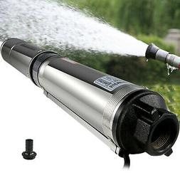 """Submersible Pump 4"""" Deep Well pump 1/2 HP110V 25.5GPM 164ft"""
