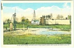 Tulsa OK Oil Photo Opp,Well Pumping, Recieving tanks and Dri